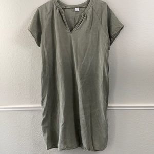 Old Navy Green Dress Large